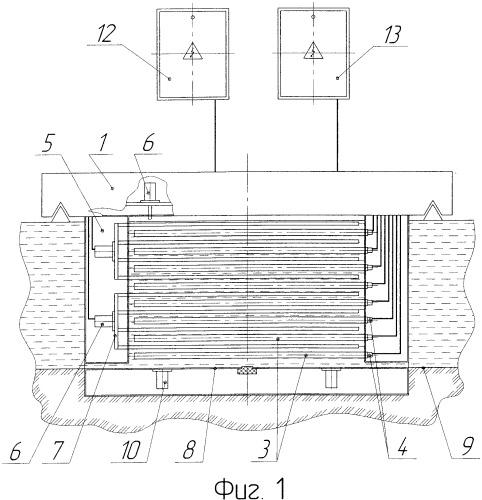 Комплексный модуль обработки жидкой среды в потоке