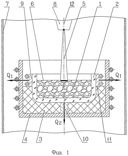 Способ вакуумной очистки кремния и устройство для его осуществления
