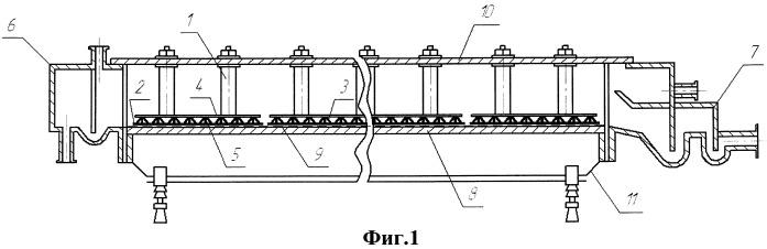 Электролизер с горизонтальным ртутным катодом