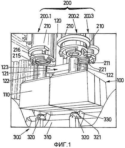 Способ, позволяющий снять анодные остатки, прикрепленные к отработанным анодам, поступающим из серий электролиза расплава