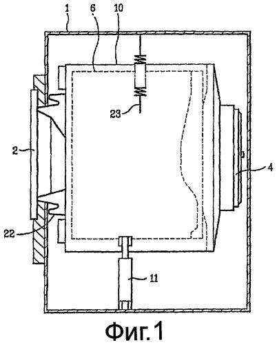 Стиральная машина барабанного типа и способ очистки резервуара стиральной машины