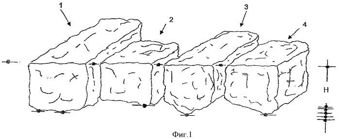 Камни для мощения, способ укладки ими мостовой и способ их производства