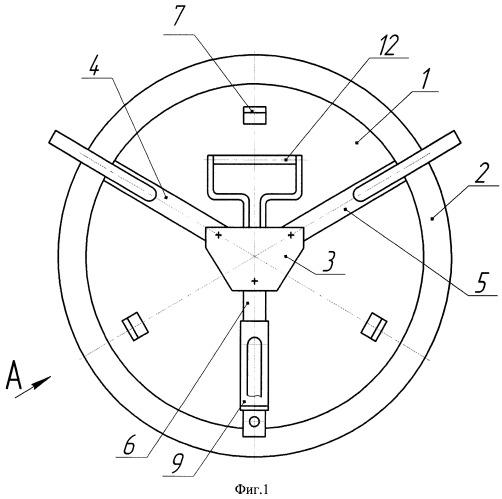 Устройство для отпирания-запирания крышки люка смотрового колодца
