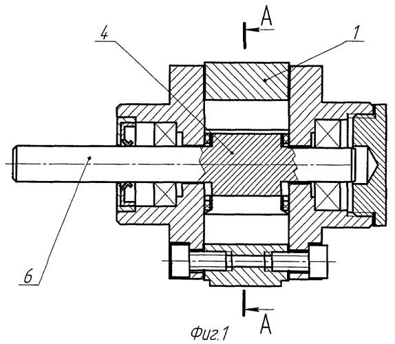 Способ измерения частоты вращения пневматического ротационного двигателя и двигатель, реализующий этот способ