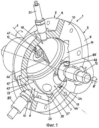 Роторно-поршневой двигатель и транспортное средство, содержащее двигатель такого типа