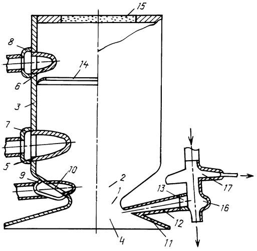 Способ охлаждения огневой стенки камеры жрд и устройство для его реализации