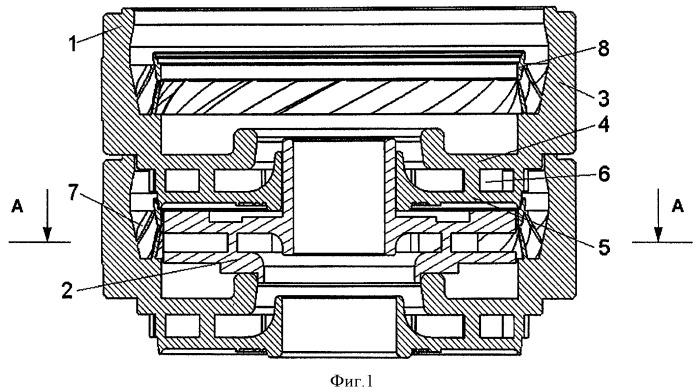 Ступень центробежного многоступенчатого насоса