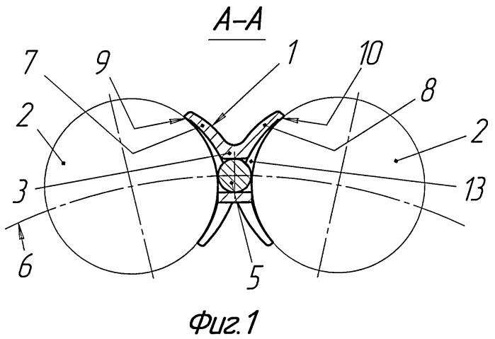 Сепаратор роликоподшипника буксы подвижного состава