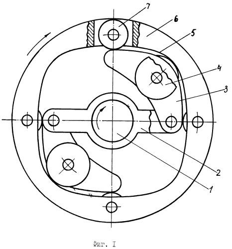 Автоматический центробежно-инерционный вариатор