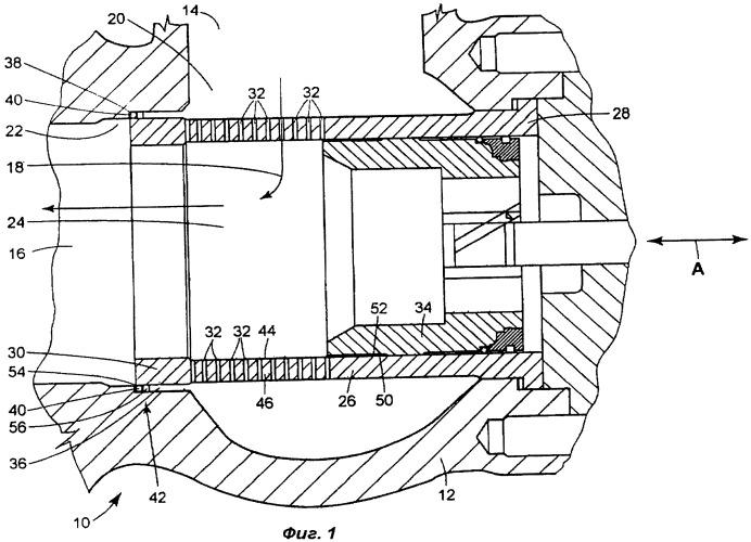 Регулирующий клапан с с-образным уплотнением