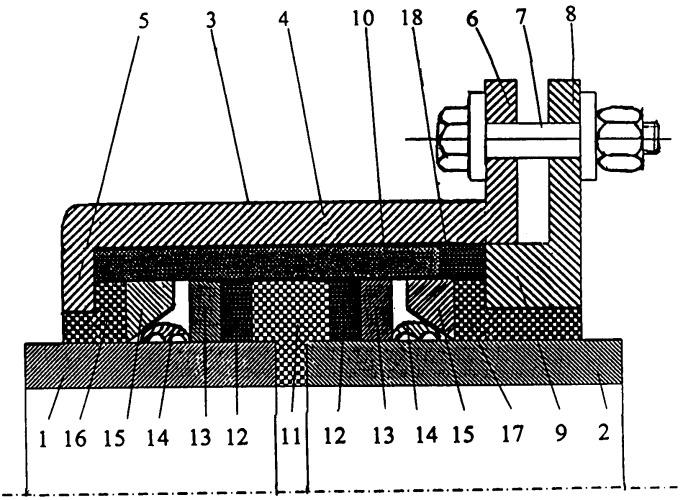 Электроизолирующее фланцевое соединение гладких труб