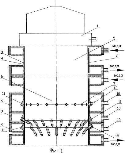 Способ получения высокотемпературной газовой среды с заданным содержанием кислорода и устройство для получения высокотемпературной газовой среды с заданным содержанием кислорода