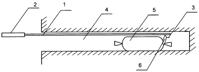 Способ и устройство заряжания горизонтального шпура