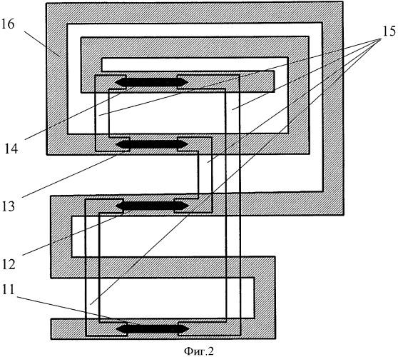 Магниторезистивная головка-градиометр