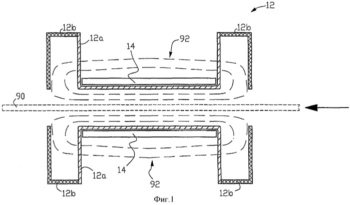 Электромагнитно защищенный индукционный нагревательный аппарат