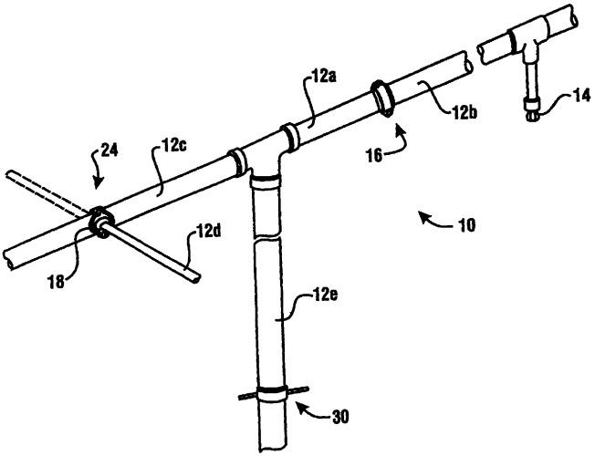 Спринклерная система пожаротушения и способ ремонта или модификации спринклерной системы