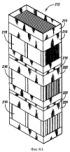 Неподвижный пленочный генератор и пленочная опорная конструкция для вертикальных многоступенчатых полимеризационных реакторов