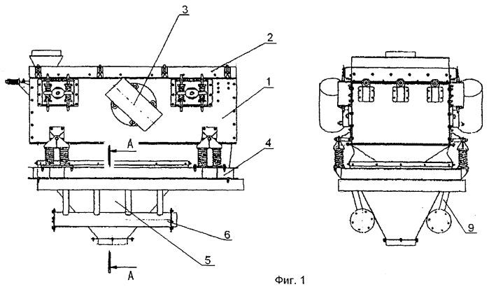Устройство для классификации подситного материала (песка) системы аспирации грохота