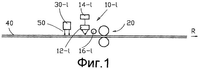 Способ и устройство для анализа слоя вспомогательного материала на деформируемом изделии