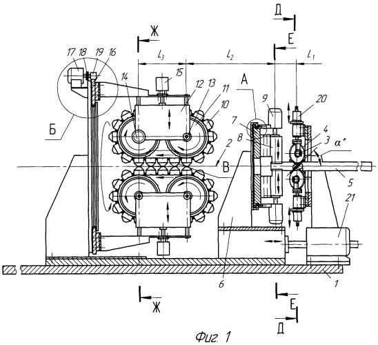 Устройство для изготовления труб с винтовыми гофрами