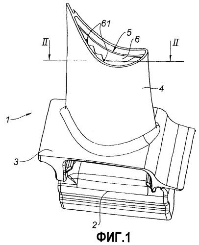 Литейный стержень для лопаток газотурбинного двигателя