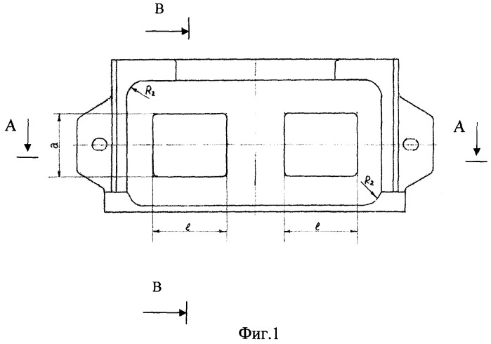 Мульда для отливки шихтовой заготовки в виде многогранника