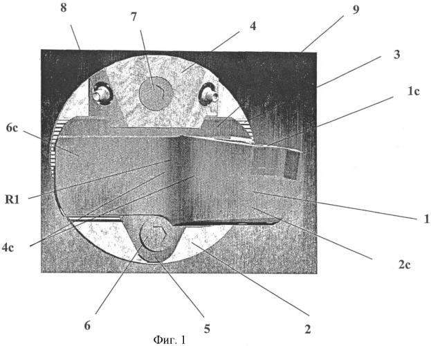 Система крепления инструментального блока к держателю, инструментальный блок и зажимное приспособление