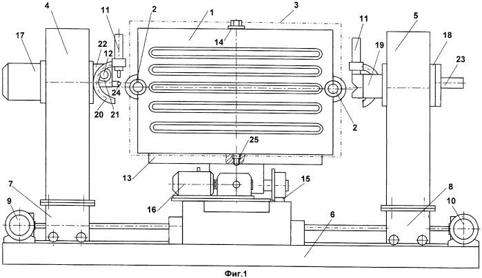 Способ и устройство для приварки горловин плоских панелей к коллекторной трубе