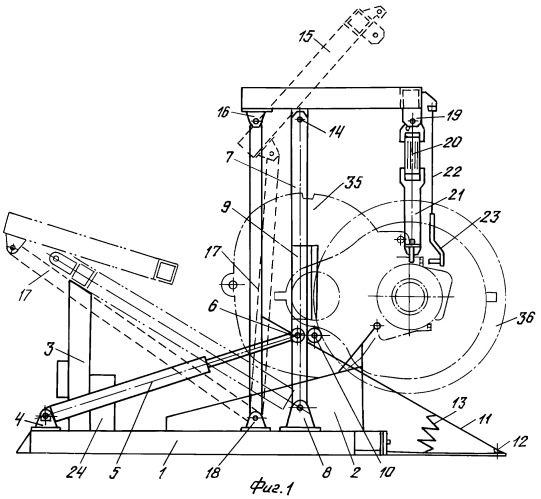 Установка для разборки колесно-моторного блока локомотива (варианты)