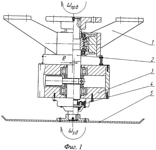 Дисковый рабочий орган заглаживающей машины с дополнительным круговым движением заглаживающего диска