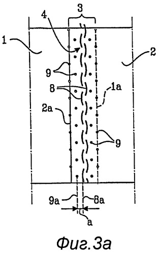Шов, соединяющий вместе, по меньшей мере, два рулонных материала