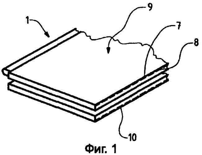 Плитка для полового покрытия, способ и производственная установка для ее изготовления