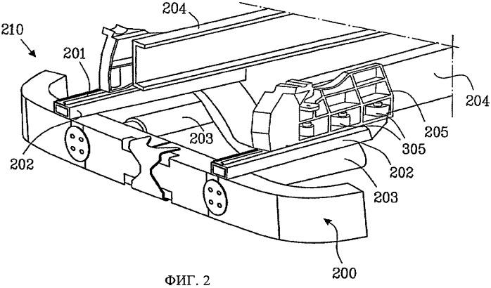 Устройство противоподкатной защиты для транспортного средства