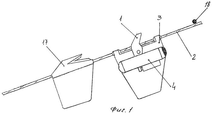 Сигнализатор затраливания мины контактным тралом