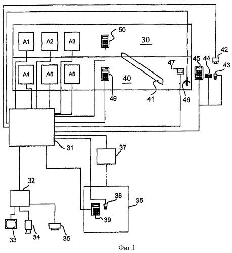 Лифтовая установка для транспортировки пользователей лифта по территории здания