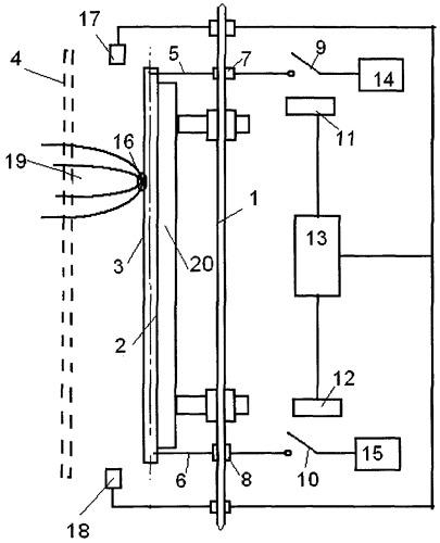 Протяженный электродуговой испаритель токопроводящих материалов