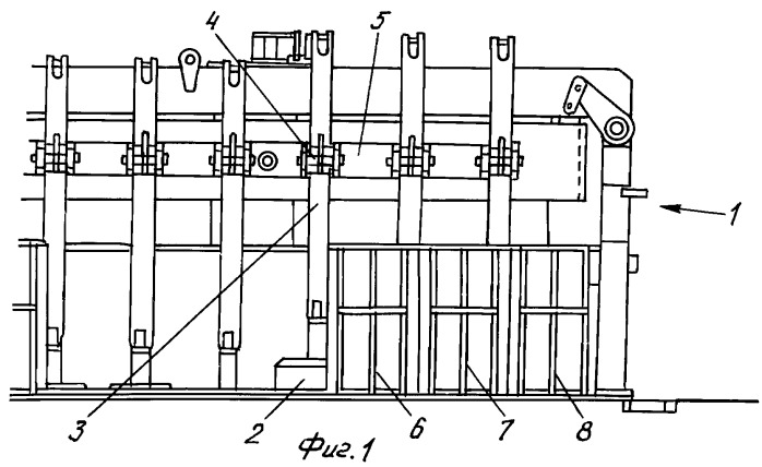 Способ и устройство, используемые при обработке крышек в верхней части конструкции электролитической ванны