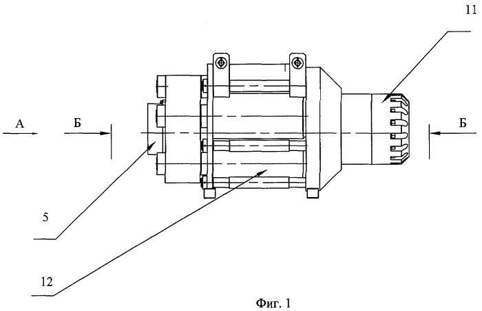 Устройство для напряжения пучков прядевой арматуры в предварительно напряженных железобетонных конструкциях