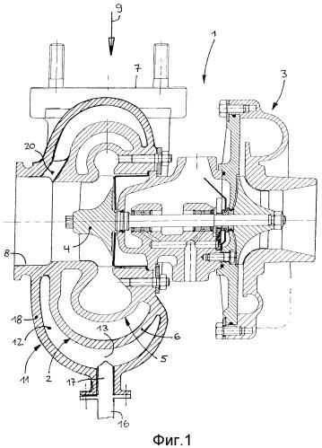 Двигатель внутреннего сгорания с турбонаддувом посредством турбокомпрессора, работающего на отработанных газах, с трубопроводом выхлопных газов и с nox-катализатором(ами)