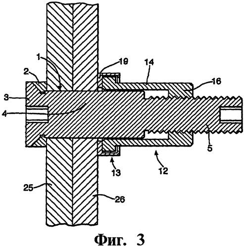 Узел крепления и способ сборки компонентов конструкции летательного аппарата