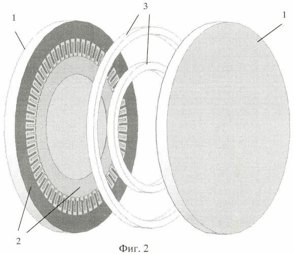 Молекулярно-электронный преобразователь углового ускорения