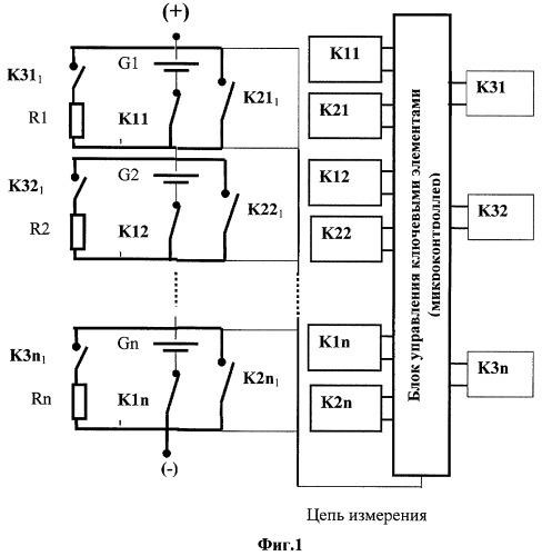 Батарея электрических накопителей энергии