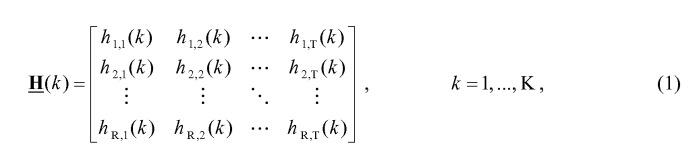 Система ofdm mimo с управляемой диаграммой направленности сниженной сложности