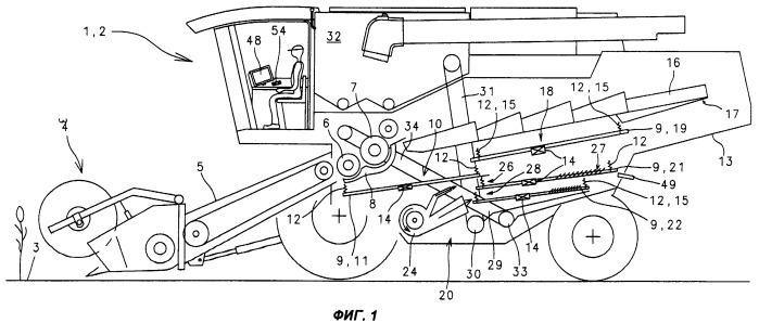 Способ и конструкция привода устройства транспортирования убранной массы