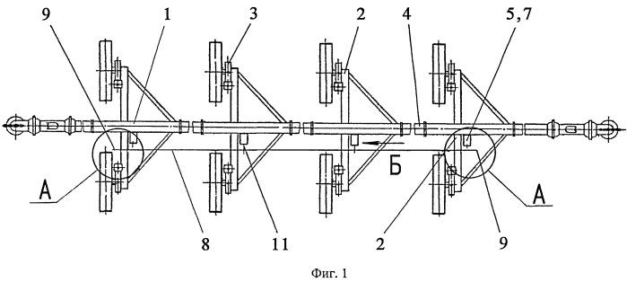 Подвижное ирригационное устройство
