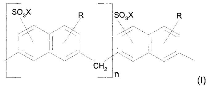Синергические смеси сульфонатов продуктов конденсации (алкил)нафталина с формальдегидом и лигносульфонатов, применимые в агрохимических препаратах
