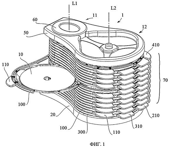 Устройство для хранения компакт-дисков