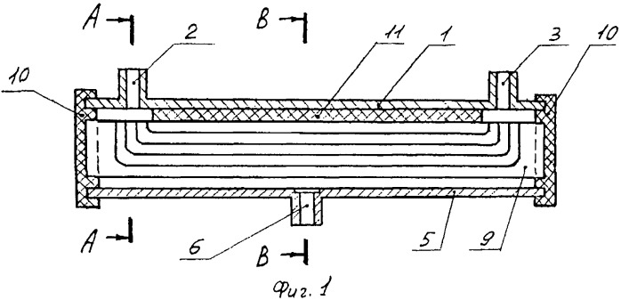 Мембранный модуль тангенциального фильтрования