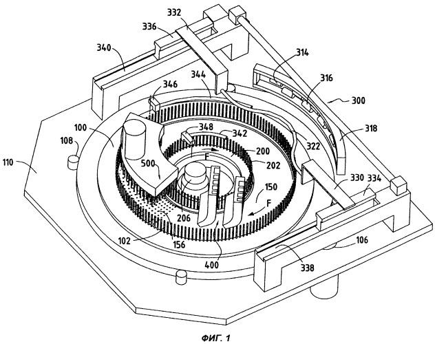 Способ изготовления кольцевого волокнистого элемента