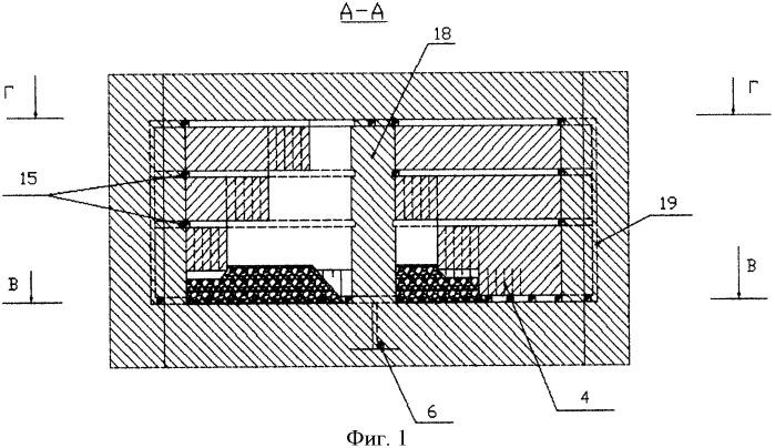 Способ разработки мощных рудных месторождений подземным способом с креплением междукамерных целиков